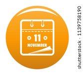 calendar eleventh november icon....