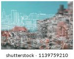 scene street illustration. hand ...   Shutterstock .eps vector #1139759210
