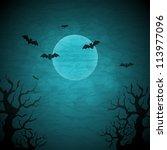 Halloween Vector Background...