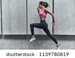 challenging herself. modern...   Shutterstock . vector #1139780819