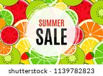 abstract summer sale background ... | Shutterstock .eps vector #1139782823