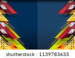 abstract background design with ... | Shutterstock .eps vector #1139783633