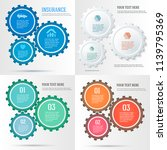 set technology abstract design... | Shutterstock .eps vector #1139795369