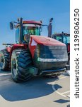 modern tractor for agriculture... | Shutterstock . vector #1139806250