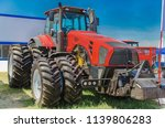 modern tractor for agriculture... | Shutterstock . vector #1139806283