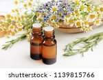 essential oil blend with... | Shutterstock . vector #1139815766