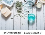 skin care  hygiene products... | Shutterstock . vector #1139820353