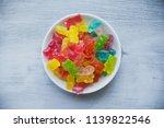 multicolored gummy bears in a... | Shutterstock . vector #1139822546