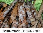 pile of firewood backgrounds... | Shutterstock . vector #1139822780