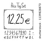 vector ilustration  price tag... | Shutterstock .eps vector #1139828873