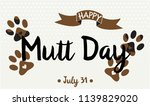 National Mutt Day Card Or...