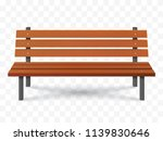 vector bench isolated. park... | Shutterstock .eps vector #1139830646