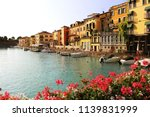 beautiful morning in peschiera...   Shutterstock . vector #1139831999