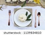 reserved thanksgiving day or... | Shutterstock . vector #1139834810