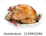thanksgiving pepper roasted... | Shutterstock . vector #1139842286