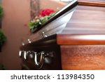 religion  death and dolor   ... | Shutterstock . vector #113984350