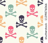 original hipster pattern with... | Shutterstock .eps vector #1139876066