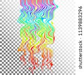 glitch waves background art....   Shutterstock .eps vector #1139883296