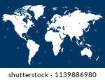 color world map vector | Shutterstock .eps vector #1139886980