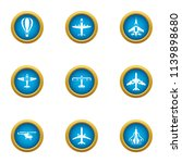 mean of transportation icons... | Shutterstock .eps vector #1139898680