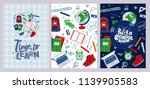 "vector posters ""back to school"" ... 