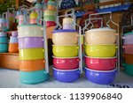 thai food carrier  tiffin...   Shutterstock . vector #1139906840