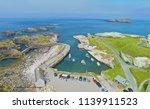ballintoy harbour near giants... | Shutterstock . vector #1139911523