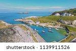 ballintoy harbour near giants... | Shutterstock . vector #1139911526