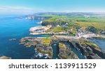 ballintoy harbour near giants... | Shutterstock . vector #1139911529