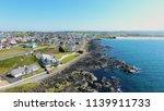 portstewart town atlantic ocean ... | Shutterstock . vector #1139911733