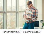 web designer working on the... | Shutterstock . vector #1139918360