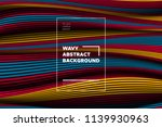 distortion of lines. modern... | Shutterstock .eps vector #1139930963