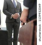 closeup.meeting business...   Shutterstock . vector #1139932049