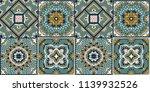 talavera pattern.  azulejos... | Shutterstock .eps vector #1139932526