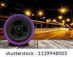 kevlar speakers that is...   Shutterstock . vector #1139948003