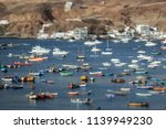 lima  peru  boats in...   Shutterstock . vector #1139949230
