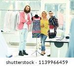 creative group of designers...   Shutterstock . vector #1139966459