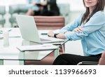 portrait of manager finance in...   Shutterstock . vector #1139966693