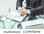 successful businessman is... | Shutterstock . vector #1139978396