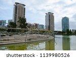 parc diagonal mar  barcelona ... | Shutterstock . vector #1139980526