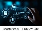 e learning education internet... | Shutterstock . vector #1139994230