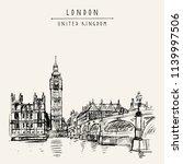 london  england  united kingdom.... | Shutterstock .eps vector #1139997506