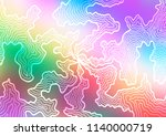 light multicolor  rainbow...   Shutterstock .eps vector #1140000719