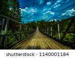 gateway to the canyon of the... | Shutterstock . vector #1140001184