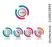 creative modern timeline...   Shutterstock .eps vector #1140015899