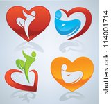 vector collection of bright and ...   Shutterstock .eps vector #114001714