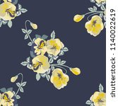seamless gorgeous pattern in... | Shutterstock .eps vector #1140022619
