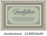 vector template advertisements  ...   Shutterstock .eps vector #1140034640