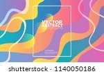 colorful geometric background.... | Shutterstock .eps vector #1140050186