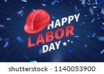 stock vector illustration happy ... | Shutterstock .eps vector #1140053900